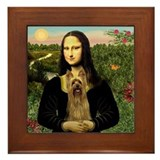 Mona's Silky Terrier Framed Tile