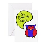 You Make Me Smile Greeting Cards (Pk of 20)