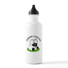 Grandpop Golf Cart Water Bottle
