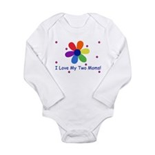 Lesbian family Long Sleeve Infant Bodysuit