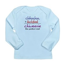 Chiweenie PERFECT MIX Long Sleeve Infant T-Shirt