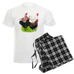 Heavy Breed Roosters Men's Light Pajamas