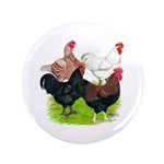 """Heavy Breed Roosters 3.5"""" Button (100 pack)"""
