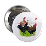 """Heavy Breed Roosters 2.25"""" Button"""