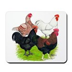 Heavy Breed Roosters Mousepad