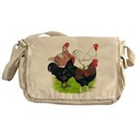 Heavy Breed Roosters Messenger Bag