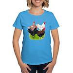 Heavy Breed Roosters Women's Dark T-Shirt