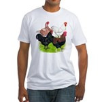 Heavy Breed Roosters Fitted T-Shirt
