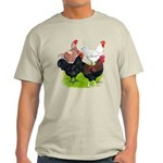 Heavy Breed Roosters Light T-Shirt