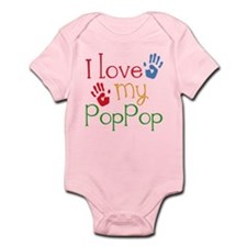 I Love PopPop Infant Bodysuit