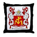 Szaszkiewicz Coat of Arms Throw Pillow