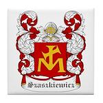Szaszkiewicz Coat of Arms Tile Coaster