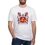 Szaszkiewicz Coat of Arms Fitted T-Shirt