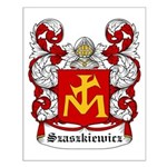 Szaszkiewicz Coat of Arms Small Poster