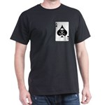 Vietnam Death Card Black T-Shirt