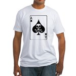 Vietnam Death Card Fitted T-Shirt
