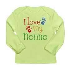 I Love Nonno Long Sleeve Infant T-Shirt