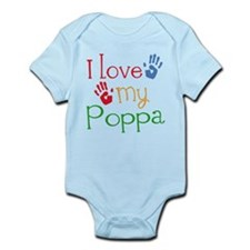 I Love Poppa Infant Bodysuit