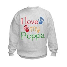 I Love Poppa Jumper Sweater