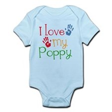 I Love Poppy Onesie
