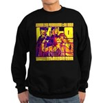 Ecto Radio Yellow Text Sweatshirt (dark)