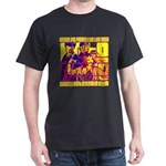 Ecto Radio Yellow Text Dark T-Shirt