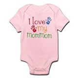 I Love MomMom Infant Bodysuit