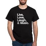 love and music Dark T-Shirt