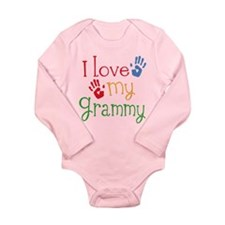 I Love Grammy Long Sleeve Infant Bodysuit