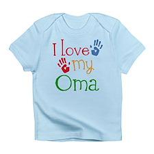 I Love Oma Infant T-Shirt