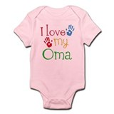 I Love Oma Infant Bodysuit