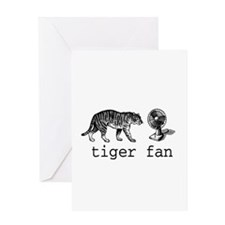 tigerfan Greeting Card