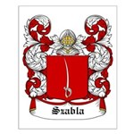 Szabla Coat of Arms Small Poster