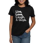 love and guys Women's Dark T-Shirt
