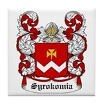 Syrokomia Coat of Arms Tile Coaster