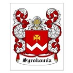 Syrokomia Coat of Arms Small Poster