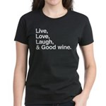 good wine Women's Dark T-Shirt