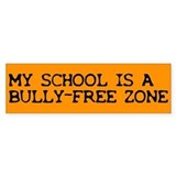 Bully-free Bumper Bumper Sticker