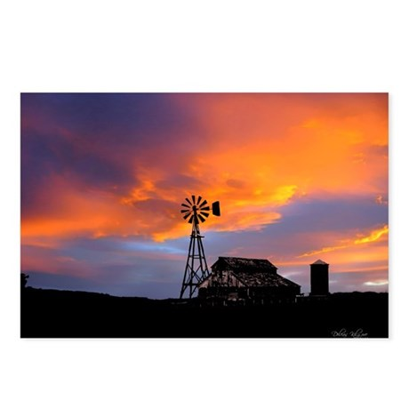 Sunset on the Farm Postcards (Package of 8)