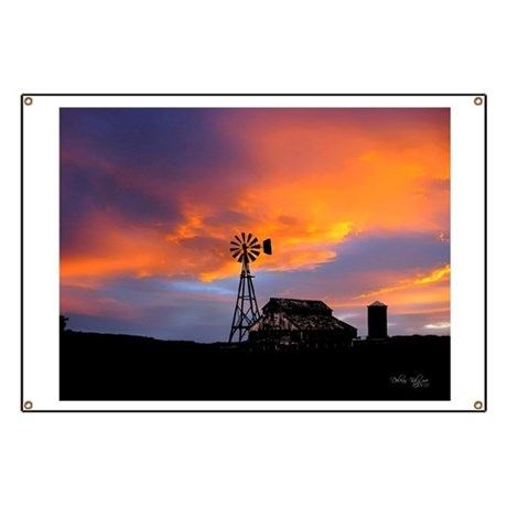 Sunset on the Farm Banner