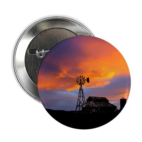 "Sunset on the Farm 2.25"" Button (100 pack)"