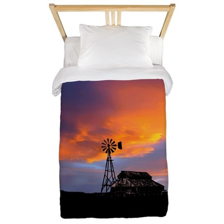 Sunset on the Farm Twin Duvet