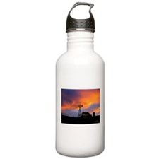 Sunset on the Farm Water Bottle