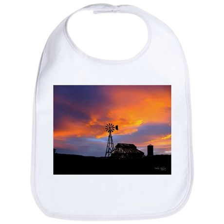 Sunset on the Farm Bib