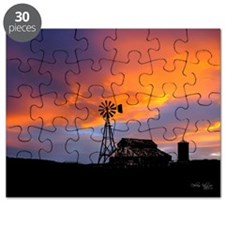 Sunset on the Farm Puzzle
