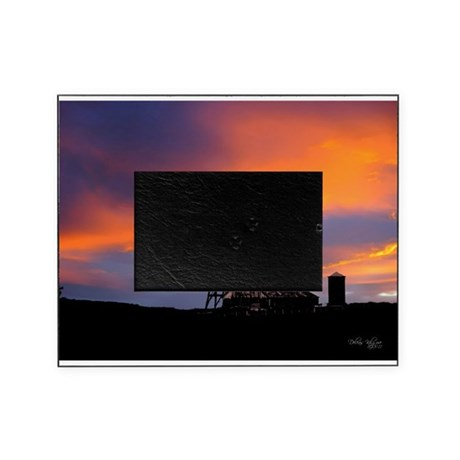 Sunset on the Farm Picture Frame