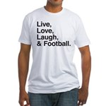 football Fitted T-Shirt