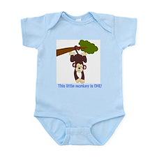 First Birthday Monkey Infant Bodysuit