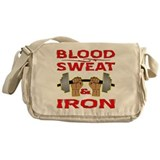 Blood Sweat & Iron Messenger Bag