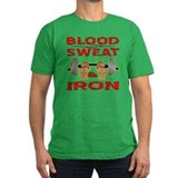 Blood Sweat & Iron T